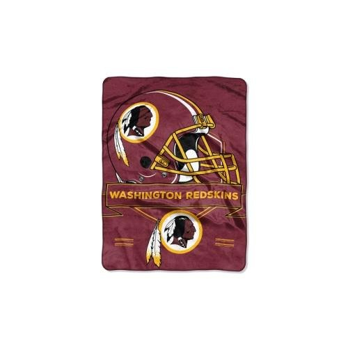 The Northwest Company NFL Washington Redskins Prestige Plush Raschel Blanket, 60