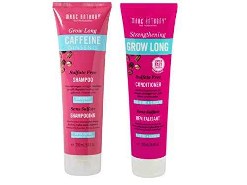 hening Grow Long Sulfate Free Shampoo and Conditioner 8.4 fl oz Pack ()