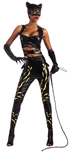 Halle Costume Catwoman Berry (Deluxe Catwoman Costume - Small - Dress Size)