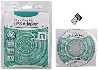 KuWFi 802.11 n//g//b LAN Mini 150Mbps USB WiFi Signal Receiver Wireless USB Network Adapter