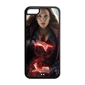 the Case Shop- Avengers 2 Avengers2 Age of Ultron Super Hero Scarlet Witch TPU Rubber Hard Back Case Silicone Cover Skin for iPhone 5C , i5cxq-768