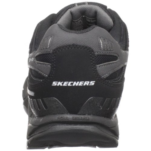 Skechers Mens Kinetix Masterson Resistance Trainer Black/Charcoal Yvq1i6EJpl