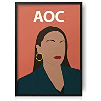 Alexandria Ocasio Cortez Poster - AOC Print - Artwork - Inspirational - Politics - Socialism - Bernie 2020