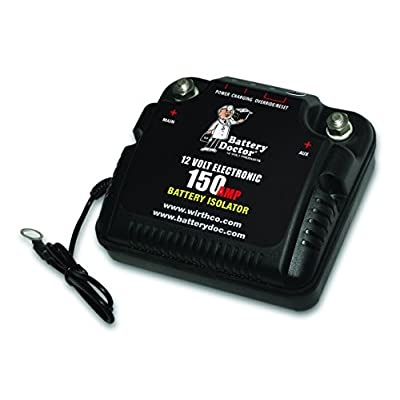 WirthCo 20092 Battery Doctor 125 Amp/150 Amp Battery Isolator: Automotive
