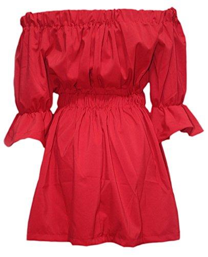 Elsa Steen - Camisas - Básico - manga 3/4 - para mujer Rojo