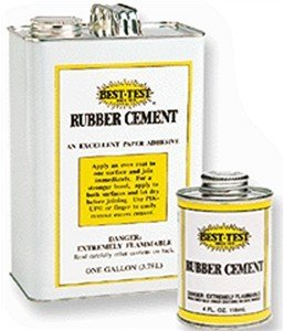 Best-Test 143 Student Rubber Cement - Gallon by Best-Test