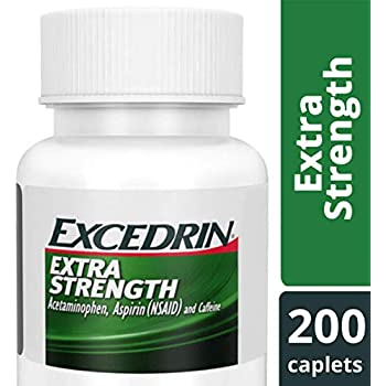 Amazon.com: Excedrin Migraine Caplets for Migraine Pain ...