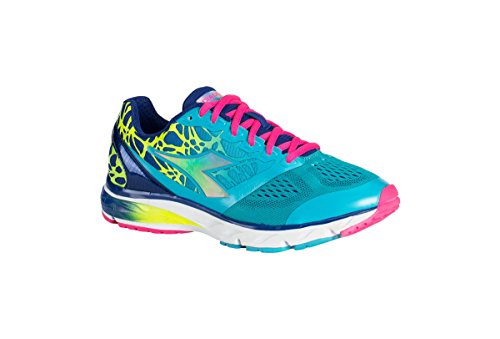Diadora Shoes Running Sneaker Jogging Women Mythos blushield w Blue Atoll/dp Ultramarine 38,5 Celeste 1 Size 7.5