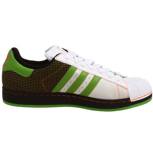 Adidas Originals Zx 300 Chaussures De Course Blanc / Avertissement / Vert