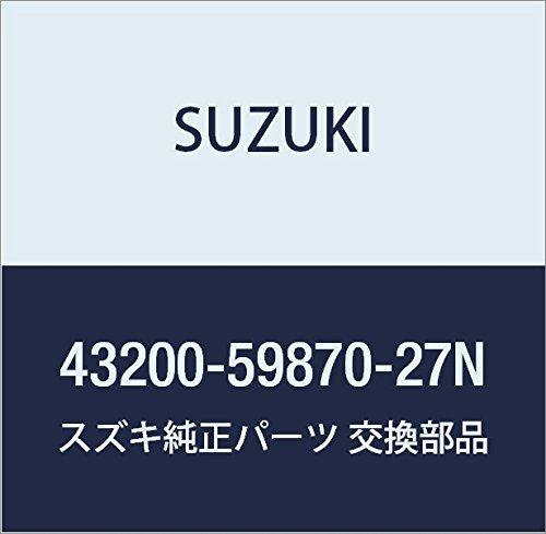 SUZUKI (スズキ) 純正部品 ホイールセット アルミ 14X4 1/2J(シルバー) ワゴンR/ワイドプラスソリオ 品番43200-59870-27N B01LZL4TZ5