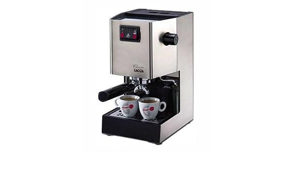 Gaggia Classic - Cafetera espresso y portafiltros (acero ...