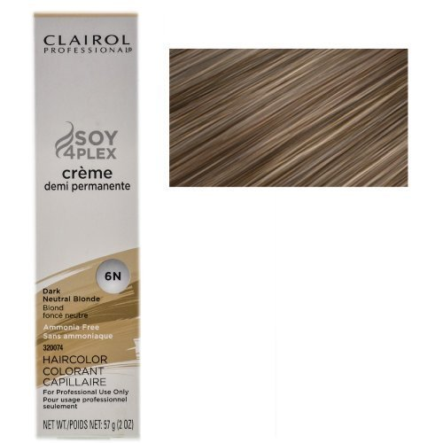 (Clairol Professional Creme Demi Permanente 6N-Dark Neutral Blonde 2 oz (Pack of 1) )