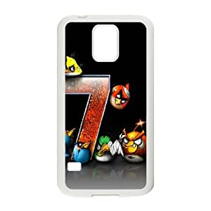 Samsung Galaxy S5 Cell Phone Case White Angry Birds Game OJ571896