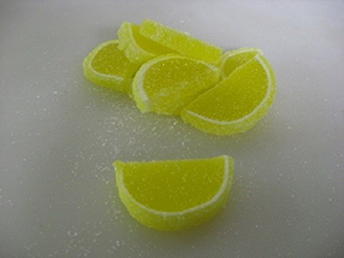 Cavalier Candies Fruit Slices Lemon flavor jelly candy 1 pou