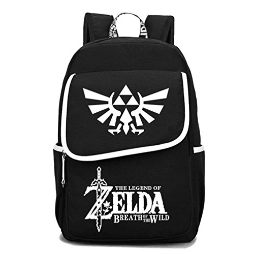 YOYOSHome Luminous Anime The Legend of Zelda Cosplay Bookbag College Bag Daypack Backpack School Bag (1)