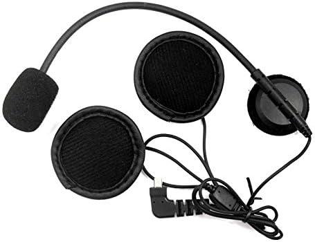 S3 Moto Interphone Casque Interphone pour Casques Ouverts Casinlog 2 Pi/èCes S/éRies 8 Broches /éCouteur Microphone Haut-Parleur pour BT-S1 BT-S2