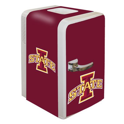 Boelter Brands NCAA Iowa State Cyclones Portable Party Fridge, 15 Quarts
