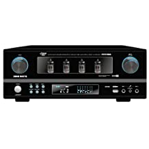 Pyle  PTVT790A Rack Mount 2000-Watt AM/FM Multi Source Receiver and Vacuum Tube Amplifier