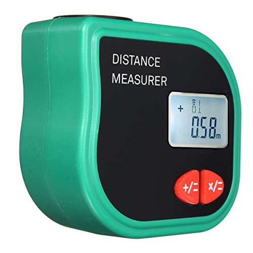 CP-3001 Ultrasonic Digital Distance Meter Handheld Rangefinder Measure Diastimeter with a Tape (Sonic Laser Tape)