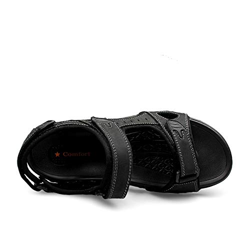 D'eau L'eau Sandales Ouvert Eu Taille Noir D'été En Randonnée Hilotu Plage Sandale Imperméable Hommes Plein À Bout Chaussures 48 Athlétique color Pour Air 7wn6fqdXB6