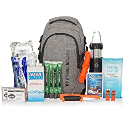 Sustain Supply Co. Essential 2-Person Emergency Survival Bag/Kit - Be Equipped for 72 Hours of Disaster Preparedness with Premium Basic Supplies for 2 People