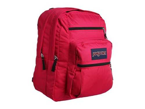 JanSport Big Student Backpack Pink Tulip One Size