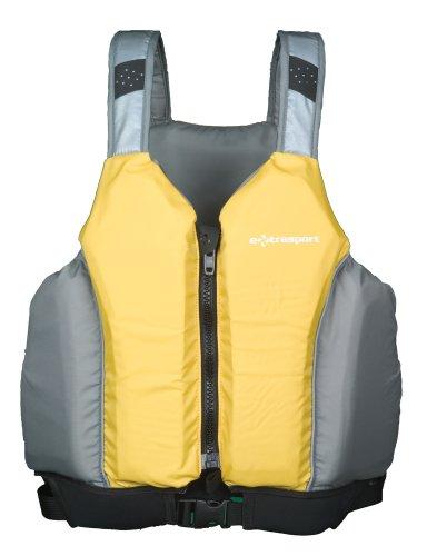 Extrasport Loch Type III PFD (Yellow/Light Grey, Small/Medium)