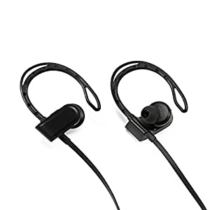 Bluetooth Headphones, Wireless Headphones In-Ear Buds Earphones Headset with Mic + Case for Running Sport, Noise Cancelling By M.owstoni