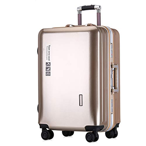 Travel Case, Luggage Trolley Case, Aluminum Frame, ABS Ultra Light Outer Casing, 20 24 Inch Large Capacity, Travel Case.-2-24
