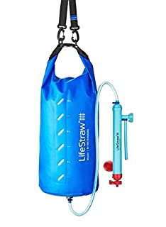 LifeStraw Mission Water Purification System, High-Volume Gravity-Fed Purifier for Camping and Emergency Preparedness, 12 Liter (B00XWAP2SU) | Amazon Products