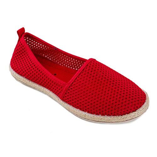 Jx1029 Toocool Rouge Rouge Toocool Espadrilles Jx1029 Espadrilles Femme Femme RP7nwT