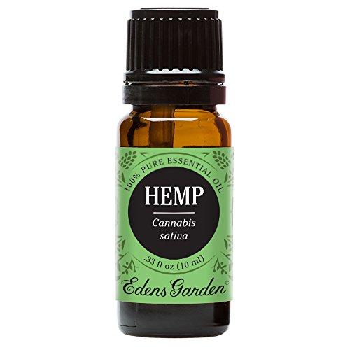 Edens Garden Hemp 10 ml 100% Pure Undiluted Therapeutic Grade Essential Oil GC/MS Tested