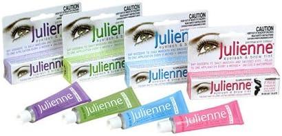 Julienne pestañas y cejas Tinte de Color negro