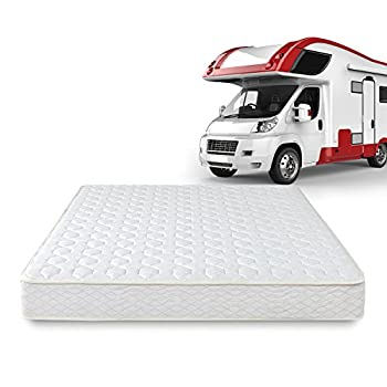 Image of Home and Kitchen Zinus 8 Inch Spring RV/Camper/Trailer/Truck Mattress, Short Queen