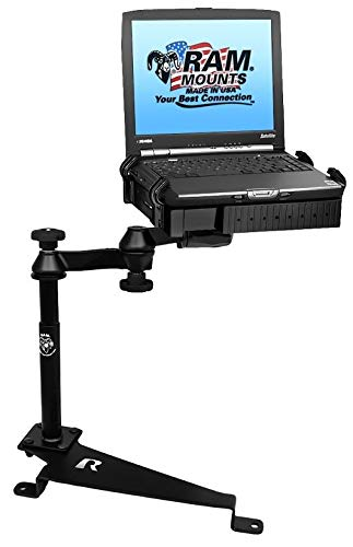 RAM MOUNTS (RAM-VB-188-SW1 No-Drill Laptop Mount for The Dodge Journey, Ford Escape, Focus, Jeep Compass and - Mount Computer Laptop Sw1