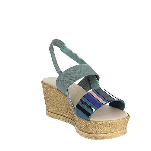 Sandale Cinzia Bleu IG9675 001 Clair Soft Femme wpqtT1p