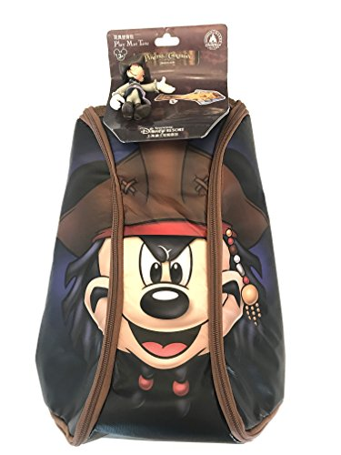 Disney Parks Shanghai Pirates of The Caribbean Mickey Mouse Play Mat Tote Backpack with ()
