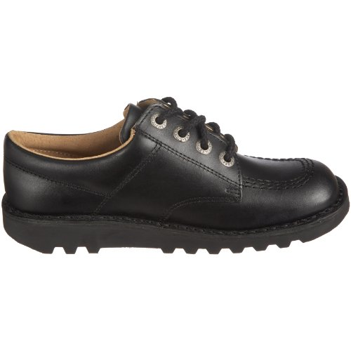 Black Kisses Kick de Zapatos Low Negro cordones xO64gx