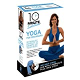 10 Minute Solution: Yoga for Beginners Kit with Yoga Strap