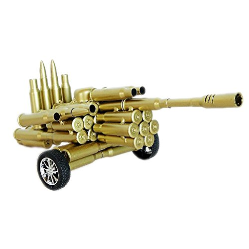 (CRAFTS Bullet Shell Artillery Model Home Decoration Ornaments Troops Soldiers Retired Souvenirs Birthday Gifts)