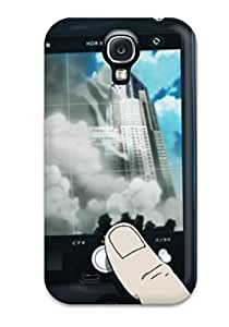 Rugged Skin Case Cover For Galaxy S4- Eco-friendly Packaging(zankyou No Terror Anime Summer)