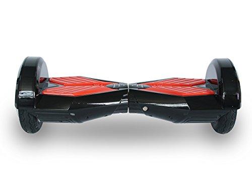 Cool&Fun Hover Board 8 Zoll E Scooter Elektroscooter Elektroroller mit Bluetooth 350W*2 mit Tasche Fernbedienung(BlackR) OItXSFGb8