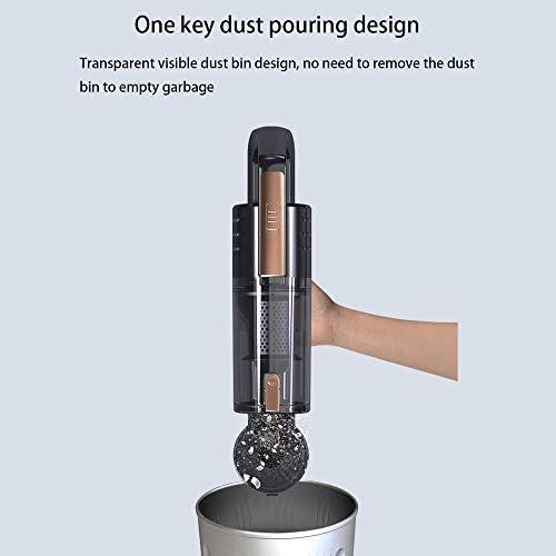 Aspirateur balai Aspirateur, aspiration puissante Aspirateur à main sec/humide Aspirateur domestique portable inoxydable Filtre en acier for la maison et bureau