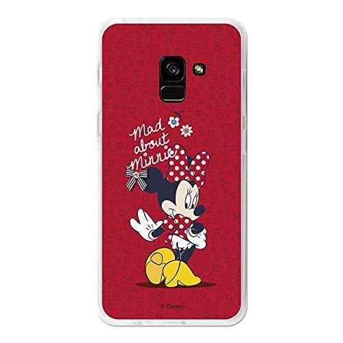 La Casa de Las Carcasas Carcasa Oficial Disney Minnie Mad About Minnie para Samsung Galaxy A8 2018