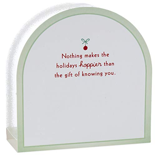 Hallmark Paper Wonder Pop Up Christmas Card Snow Globe (Woodland Creatures) Photo #7