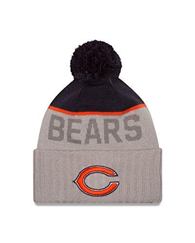 (New Era NFL Chicago Bears 2015 Sport Knit, Blue/Gray, One Size)