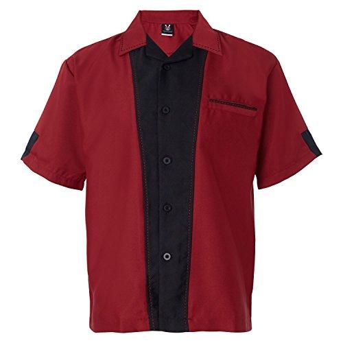Hilton HP2245 Mens Monterey Bowling Shirt