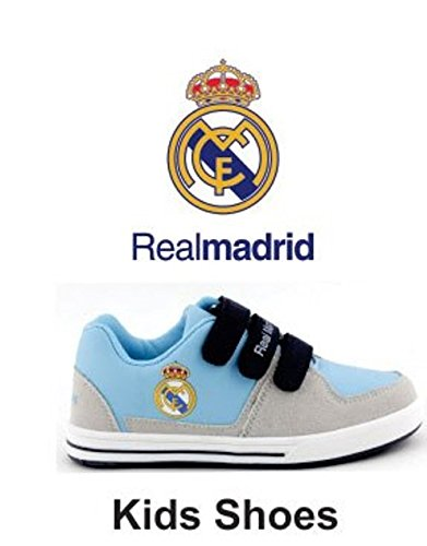 Real Madrid Shoes Blue Gray