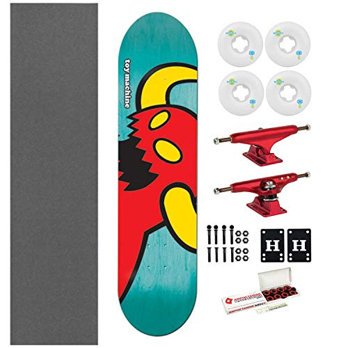 """Toy Machine Skateboard Vice Monster 7.75"""" Assorted + Indy Tr"""