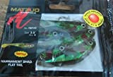 Matzuo 3 1/2″ Tournament Shad – Avocado Firetail Review